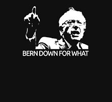 Bernie Sanders Bern Down For What Realistic  T-Shirt