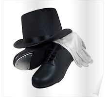 Top Hat Tap Shoes Poster