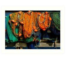 Nets Art Print