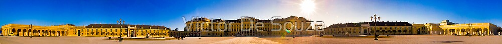 Schonbrunn Palace Panoramic by Victor De Souza