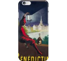 Leonetto Cappiello Affiche Bénédictine Cappiello iPhone Case/Skin