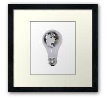 World Energy Framed Print