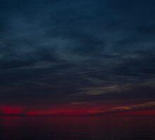 Lake Ontario Sunset by Raymond Holt