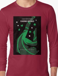 No277-007-2 My Casino Royale minimal movie poster Long Sleeve T-Shirt
