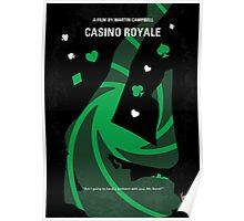 No277-007-2 My Casino Royale minimal movie poster Poster