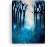 Fog in Trees Canvas Print