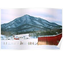 WEARS VALLEY,TENNESSEE WINTER Poster