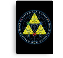 Transmutation of Time Canvas Print