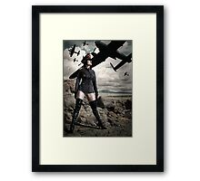 Sergeant Sparkles Framed Print