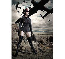 Sergeant Sparkles Photographic Print