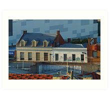Over the Roof Tops, Geelong Art Print