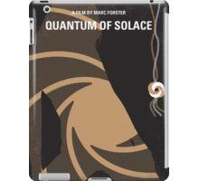 No277-007-2 My Quantum of Solace minimal movie poster iPad Case/Skin