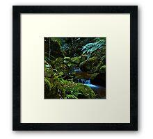 The Brook - Terrace Falls Framed Print