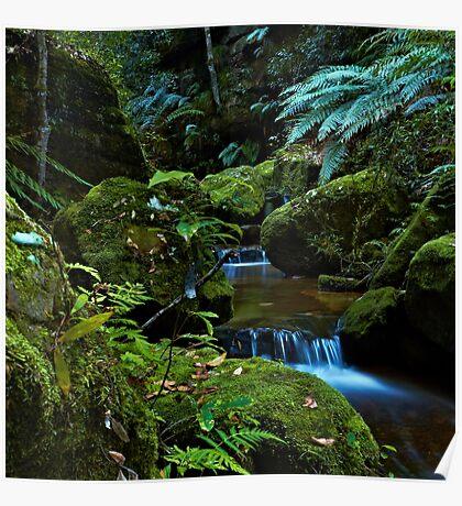 The Brook - Terrace Falls Poster