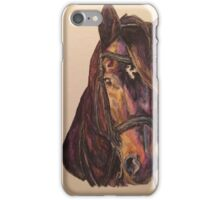 Dark Bay Dressage Horse iPhone Case/Skin