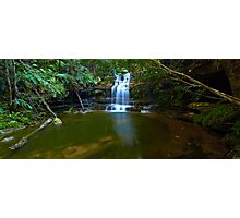 The Bottom Pool - Terrace Falls Photographic Print
