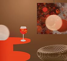 Glowing - Still life 9 by Marlies Odehnal