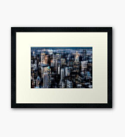 Downtown II Framed Print