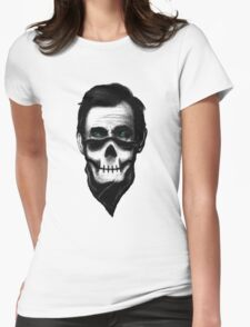 """Lincoln """"The Outlaw"""" Womens Fitted T-Shirt"""