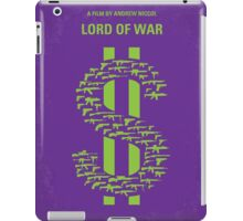 No281 My LORD OF WAR minimal movie poster iPad Case/Skin