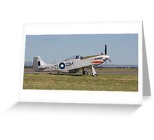 P-51 Mustang Greeting Card