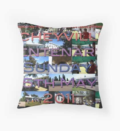 May 15, 2011. COME TO SCHEYVILLE! Throw Pillow