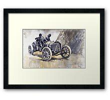 Isotta Fraschini 50HP 1908 Targa Floria  Framed Print