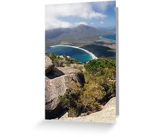 Wineglass Bay, Freycinet National Park Greeting Card