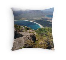 Wineglass Bay, Freycinet National Park Throw Pillow