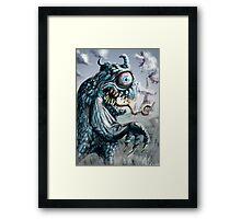 Id Monster Framed Print