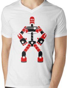 Reboot the Robot Mens V-Neck T-Shirt