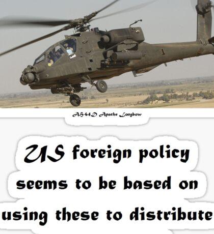 Apache Policy Sticker