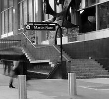 Martin Place, Sydney, April 2011 by Paul W. Kerr