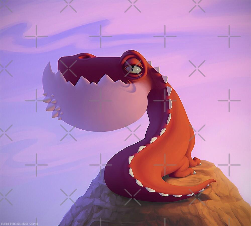 Dragonsaur by SuperNitro
