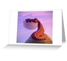 Dragonsaur Greeting Card