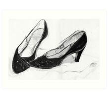 Old Heels Art Print
