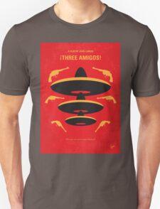 No285 My Three Amigos minimal movie poster T-Shirt