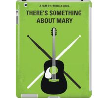 No286 My There's Something About Mary minimal movie poster iPad Case/Skin