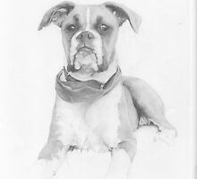 Drawing....Bobby by Dave Castle
