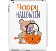 Happy Halloween Little Boy Bear iPad Case/Skin
