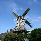 Norg, molen  by Peter Voerman