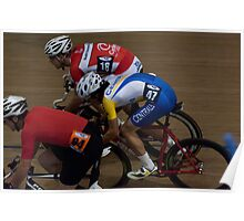Night out at the velodrome Poster