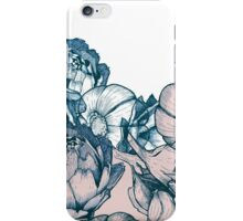 In my garden of pink and blue iPhone Case/Skin