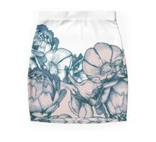 In my garden of pink and blue Mini Skirt