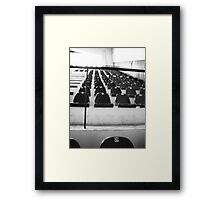 where will you sit Framed Print