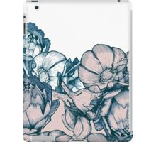 In my garden of pink and blue iPad Case/Skin