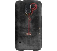 Smile! You're at 221B - red, foggy Samsung Galaxy Case/Skin