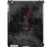 Smile! You're at 221B - red, foggy iPad Case/Skin