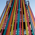 Glastonbury Festival - Viewing Tower by oindypoind