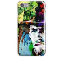 Clint Cowboy Hero Movie Western  Prints Posters iPhone Case/Skin